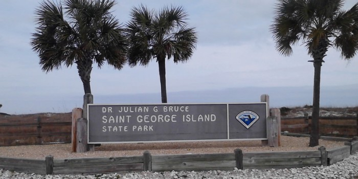 Entrance of the State Park