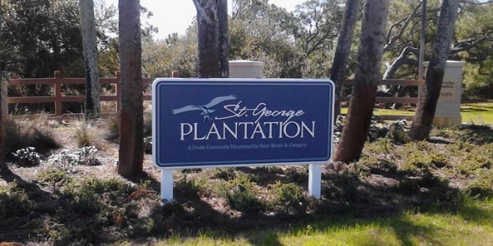Plantation Entrance Sign