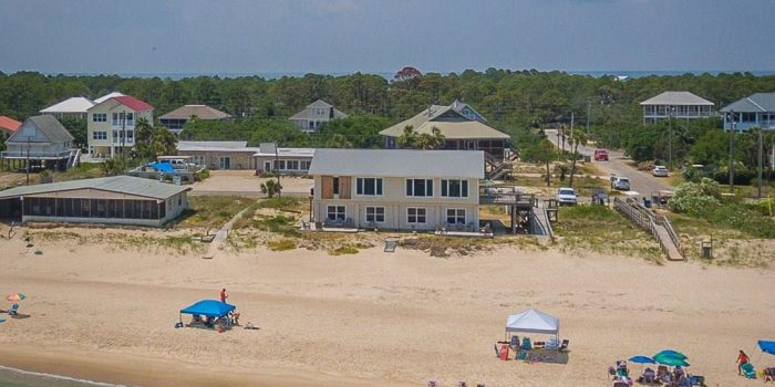 gulf front triplex located in the Gulf Beaches