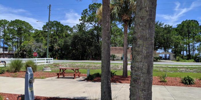 Improved RV lot located in Carrabelle Beach RV Resort