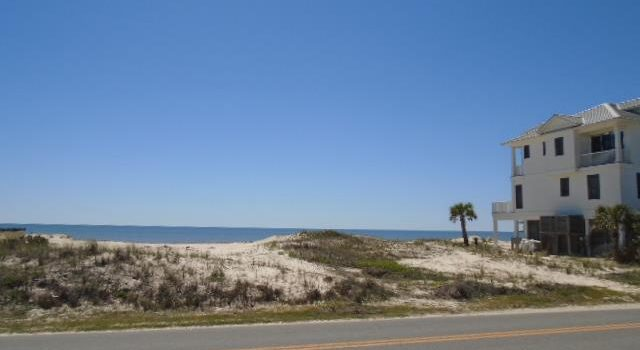 .30 acre 1st tier lot located in the Gulf Beaches