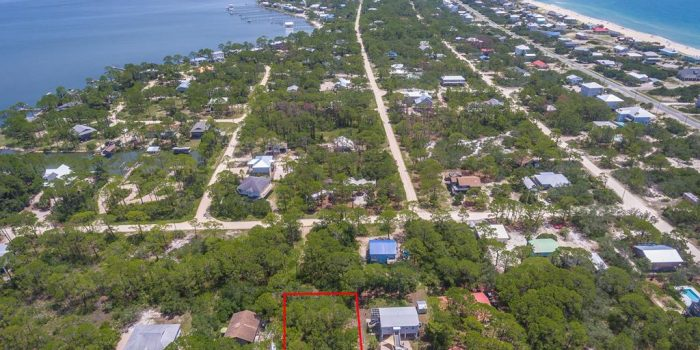 .34 acre lot located in the Gulf Beaches