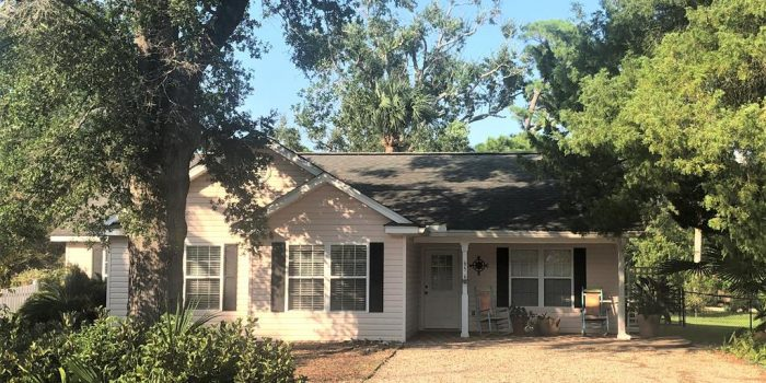 home located in Historic South side of Apalachicola