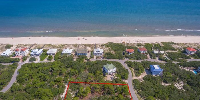 1408 Camellia Ct. - 1 acre Plantation gulf view lot