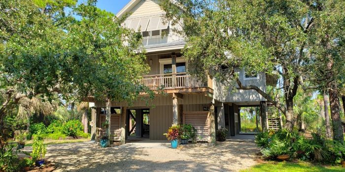 bay front home with elevator and dock located in the Plantation