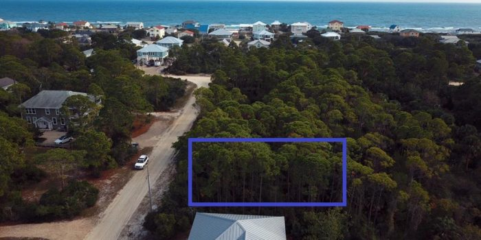 .27 acre interior lot located in the Gulf Beaches
