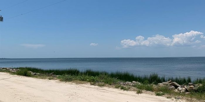 .34 acre bay view lot located in the Gulf Beaches