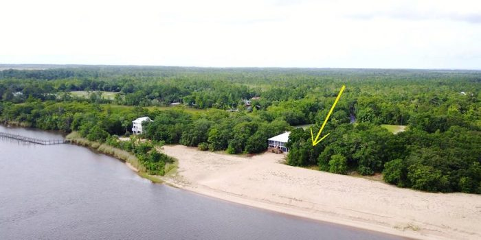 0.500 Acre river front lot in Apalachicola