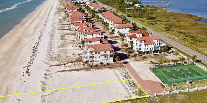 .4700 Acre gulf front lot in Sunset Beach