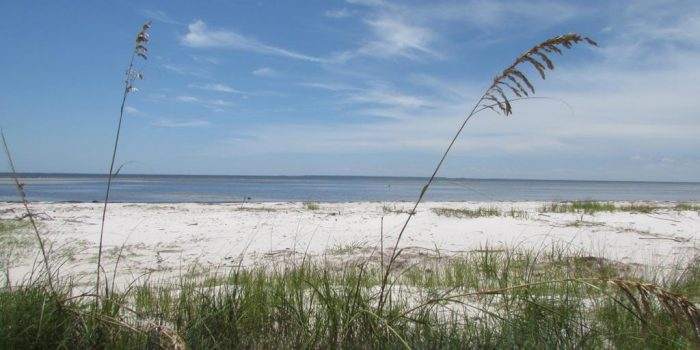 1.121 acre bay front lot located in Carrabelle