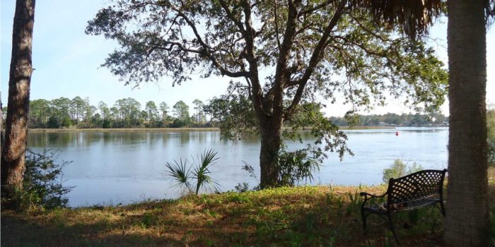 0.29 acre river front lot located on the Carrabelle river