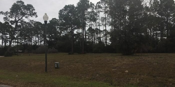 .25 acre lot located in Kapes Bayou Landing