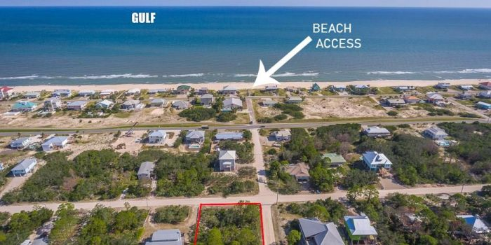 .4020 Acre lot located in the Gulf Beaches