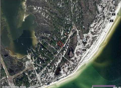 0.39 Acre interior lot on Dog island