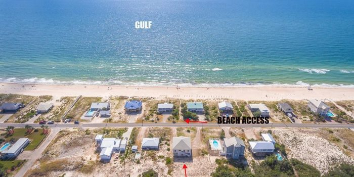 1st tier home located in the Gulf Beaches