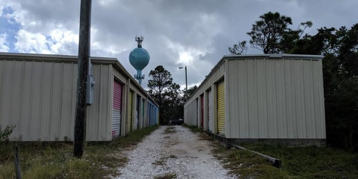 40 Storage units on 0.0370 acres located in the Gulf Beaches