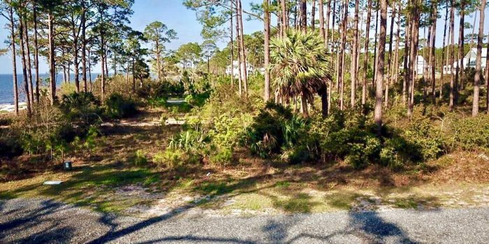 0.2050 acre gulf view lot in Summercamp Beach