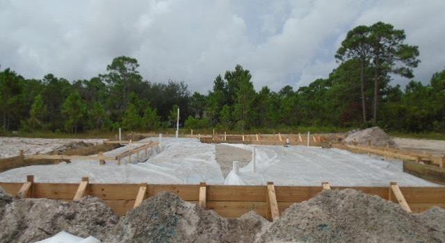 new construction home located in Las Brisas subdivision