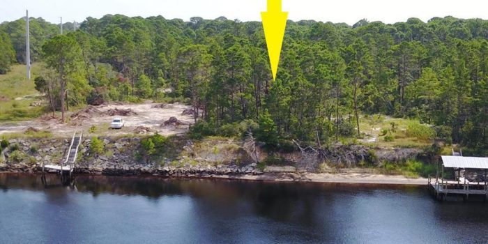 1.1200 Acre River front lot located in River Bluffs subdivision in Carrabelle