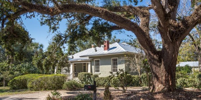 home with an artist studio located in Historic South side of Apalachicola