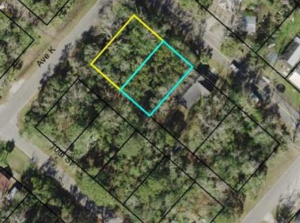 0.2750 Acres (2 city lots) located in Historic North side of Apalachicola