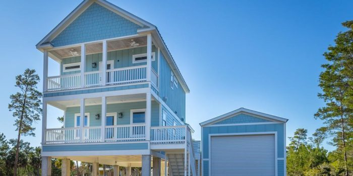 new construction home located in Carrabelle Landing subdivision