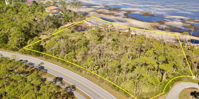 2 acre bay front lot located near Bob Sikes Cut in Heron Bay Village in the Plantation