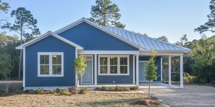 new construction home located in Whispering Pines