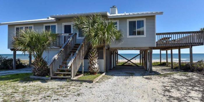 bay front home on St. George with fireplace located in Shell Harbor on the East End
