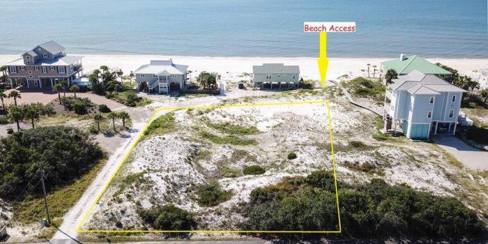 1460 E. Gulf Beach Dr. Beach View Land For Sale