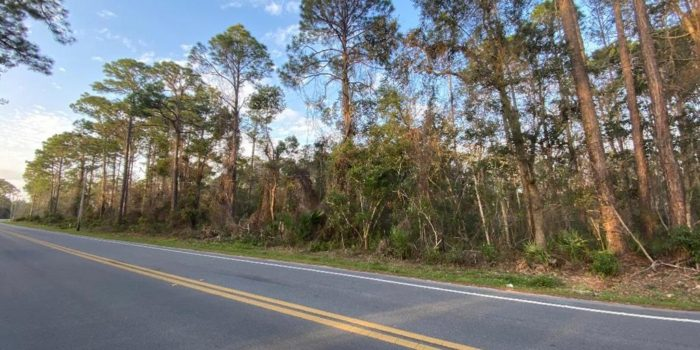 1.04 acre lot located in Greater Apalachicola