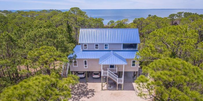 bay view home located in Indian Bay Village in the Plantation