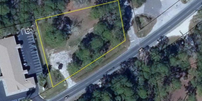 1.16 acre commercial (C-3) tract located in Greater Apalachicola
