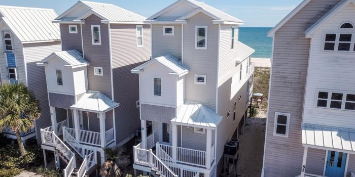 gulf front home located in the Gulf Beaches for sale