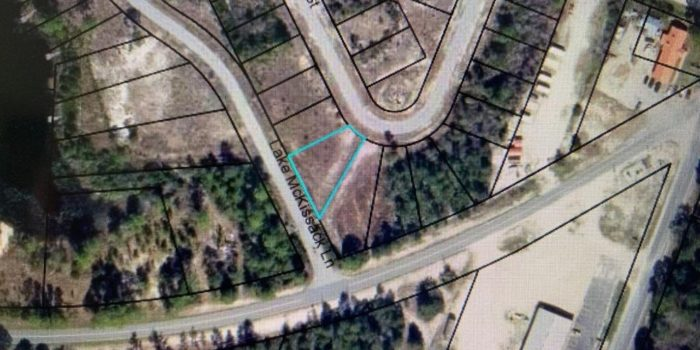 .22 acre lot located in Carrabelle Landing