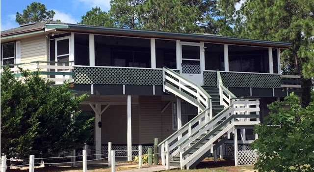 bayou front home located in Bayou Harbor
