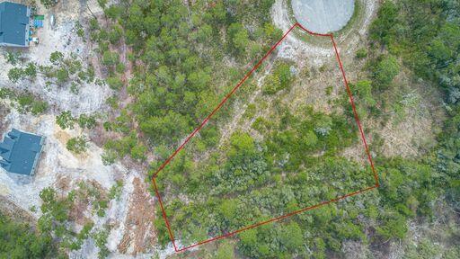 1 acre lot located in Magnolia Ridge subdivision