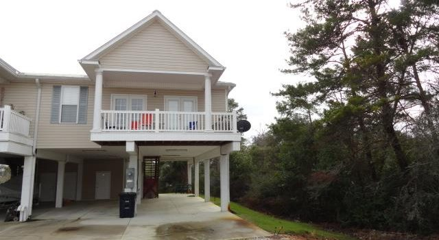 town home located in the Sands of Carrabelle